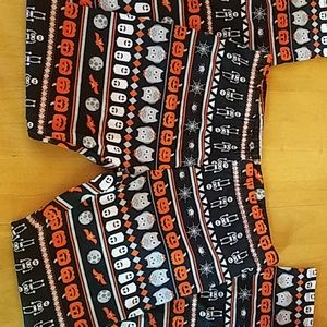NWOT Girls Medium Halloween Leggings